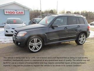 Used 2011 Mercedes-Benz GLK350 for sale in North Bay, ON