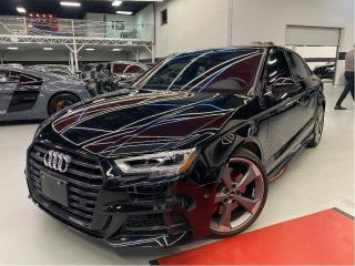 Used 2020 Audi S3 Sedan 2.0 TECHNIK I NAVI I RED LEATHER I COMING SOON for sale in Vaughan, ON