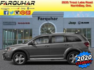 New 2020 Dodge Journey Canada Value Package for sale in North Bay, ON