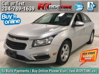 Used 2015 Chevrolet Cruze 2LT for sale in Winnipeg, MB