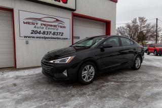 Used 2020 Hyundai Elantra Preferred w-Sun & Safety Package IVT for sale in Winnipeg, MB