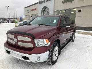 Used 2018 RAM 1500 SLT,ECO DIESEL,LEATHER,NAVIGATION,LOW KMS! for sale in Slave Lake, AB