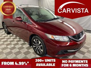 Used 2013 Honda Civic EX -SUNROOF/BACK UP CAM/BLUETOOTH- for sale in Winnipeg, MB