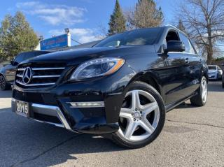 Used 2015 Mercedes-Benz ML-Class 4MATIC 4dr ML350 BlueTEC ACCIDENT FREE |BLINDSPOT|DIESEL for sale in Brampton, ON