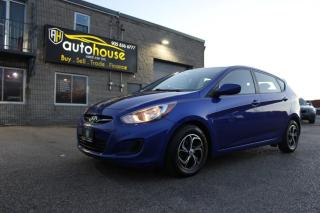 Used 2014 Hyundai Accent GLS/ HATCHBACK / BLUETOOTH / HEATED SEATS / CLEAN CARFAX! for sale in Newmarket, ON