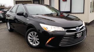Used 2017 Toyota Camry HYBRID LE - BACK-UP CAM! BLUETOOTH! ACCIDENT FREE! for sale in Kitchener, ON