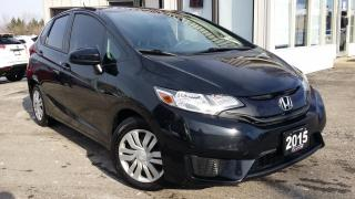 Used 2015 Honda Fit LX 6-Spd MT BACK-UP CAM! BLUETOOTH! HEATED SEATS! for sale in Kitchener, ON