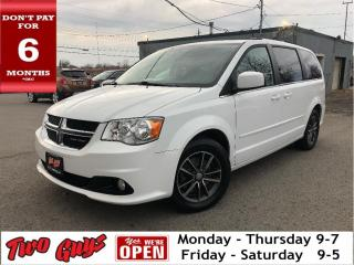 Used 2017 Dodge Grand Caravan SXT Premium Plus | Leather + Suede | for sale in St Catharines, ON