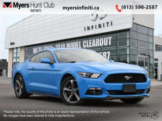 Used 2017 Ford Mustang V6  - Bluetooth for sale in Ottawa, ON