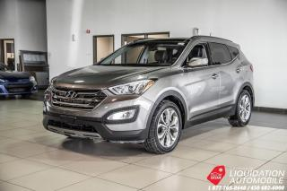 Used 2015 Hyundai Santa Fe Sport SPORT 2.0 AWD+TOIT PANO+VOLANTS/SIEG CHAUFF+MAGS for sale in Laval, QC