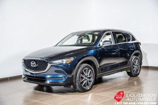 Used 2017 Mazda CX-5 GT TOIT+MAGS 19POUCE+CAM/RECUL+NAVI+CUIR for sale in Laval, QC