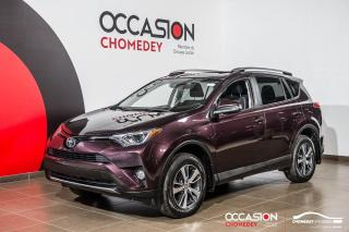 Used 2017 Toyota RAV4 XLE AWD+TOIT+MAGS+SIEG/CHAUFF+CAM/RECUL+A/C for sale in Laval, QC