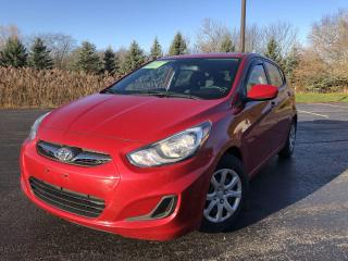 Used 2014 Hyundai Accent GL 2WD for sale in Cayuga, ON