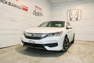 Used 2017 Honda Accord LX I4 4 portes CVT for sale in Blainville, QC
