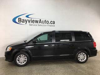 Used 2019 Dodge Grand Caravan CVP/SXT - 1/2 LEATHER! NAV! BLACK! 26,000KMS! for sale in Belleville, ON