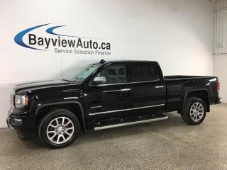 Used 2018 GMC Sierra 1500 Denali - 5.3L! LEATHER! NAV! SUNROOF! for sale in Belleville, ON