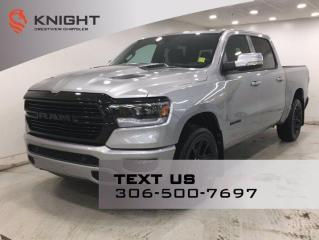 New 2021 RAM 1500 Sport Night Edition Crew Cab | Leather | Navigation | for sale in Regina, SK