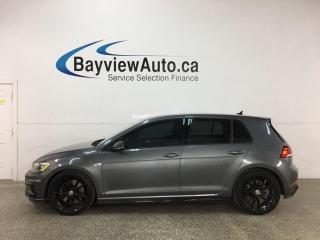 Used 2019 Volkswagen Golf R 2.0 TSI - AWD! HTD LEATHER! NAV! ADAPTIVE CRUISE! + MUCH MORE! for sale in Belleville, ON