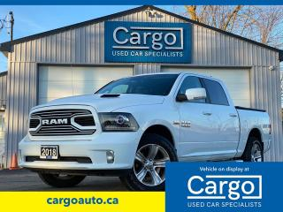 Used 2018 RAM 1500 SPORT for sale in Stratford, ON