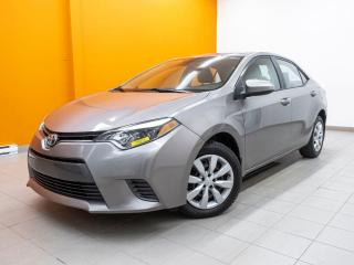 Used 2016 Toyota Corolla AUTOMATIQUE CAMÉRA SIÈGES CHAUFFANTS *BAS KM* for sale in St-Jérôme, QC