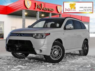 Used 2014 Mitsubishi Outlander GT 6Pass. ,AWC, Fully Loaded for sale in Brandon, MB