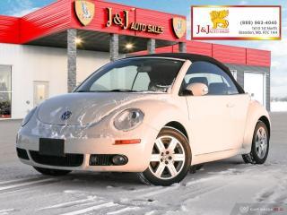 Used 2007 Volkswagen New Beetle 2.5L 5 Spd, Conv., 2Set Tires for sale in Brandon, MB