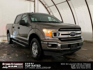 Used 2018 Ford F-150 XLT SIDE STEPS, LINE-X, TRAILER PARK ASSIST, REVERSE CAMERA for sale in Ottawa, ON