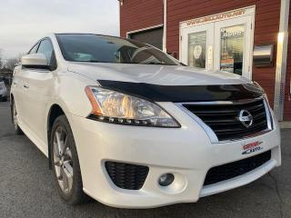 Used 2013 Nissan Sentra Berline 4 portes, SR, AUTOMATIQUE, for sale in Drummondville, QC