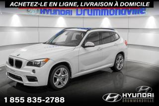 Used 2015 BMW X1 35I + M PACK +GARANTIE + TOIT + CUIR + W for sale in Drummondville, QC