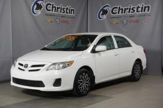 Used 2013 Toyota Corolla TOUT EQUIPÉ A/C SIEGE CHAUFFANT BLUETOOTH USB for sale in Montréal, QC