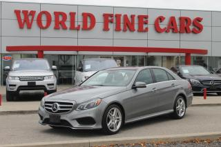 Used 2014 Mercedes-Benz E-Class | Accident Free! | Ontario Car | 400 HP for sale in Etobicoke, ON