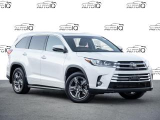 Used 2018 Toyota Highlander Limited IN AMAZING CONDITION for sale in Welland, ON