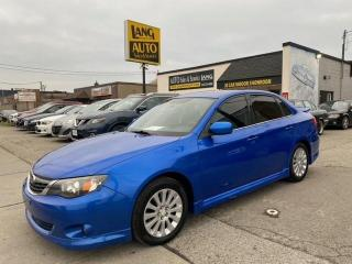 Used 2009 Subaru Impreza 2.5 i Sport Package NO ACCIDENTS , LOW MILEAGE for sale in Etobicoke, ON