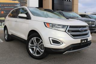 Used 2017 Ford Edge Titanium PRE-OWNED, CERTIFIED, NO ACCIDENTS ONE OWNER! TITANIUM! NAVIGATION AWD for sale in Hamilton, ON