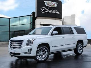 Used 2018 Cadillac Escalade ESV Platinum ONE OWNER! | CLEAN HISTORY! for sale in Burlington, ON