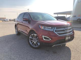 Used 2018 Ford Edge Titanium PENDING SALE for sale in Leamington, ON