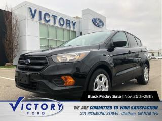 Used 2018 Ford Escape S| BACK-UP CAM| CRUISE CONTROL for sale in Chatham, ON