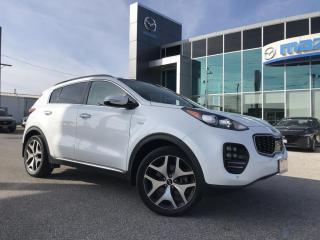 Used 2018 Kia Sportage SX Turbo AWD With Navigation for sale in Chatham, ON