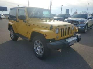 Used 2015 Jeep Wrangler Sahara Heated Seats, NAV, Leather, Bluetooth! for sale in Ingersoll, ON