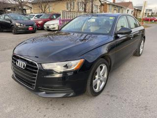 Used 2014 Audi A6 4dr Sdn quattro 2.0T Progressiv for sale in Ottawa, ON