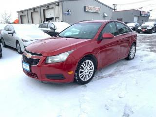 Used 2012 Chevrolet Cruze 4dr Sdn Eco w/1SA for sale in Winnipeg, MB