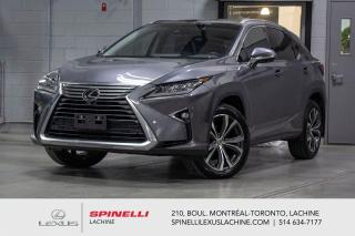 Used 2017 Lexus RX 350 EXECUTIVE AWD; CUIR TOIT/CAM PANO GPS AUDIO LSS+ NAVIGATION - TOIT PANORAMIQUE - CAMERA 360 - AFFICHAGE TETE HAUTE - AUDIO PREMIUM MARK LEVINSON for sale in Lachine, QC