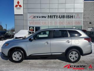 Used 2020 Mitsubishi Outlander S-AWC+7 PLACES+A/C+MAGS+APPLE CARPLAY+GR. ÉLECTRIQ for sale in St-Hubert, QC