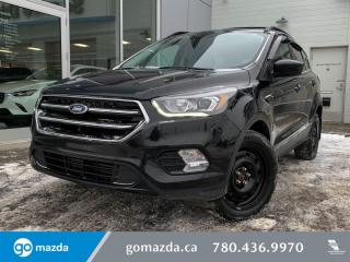 Used 2017 Ford Escape SE - LEATHER/CLOTH, HEATED SEATS, BLUETOOTH, BACK UP, PANO SUNROOF for sale in Edmonton, AB