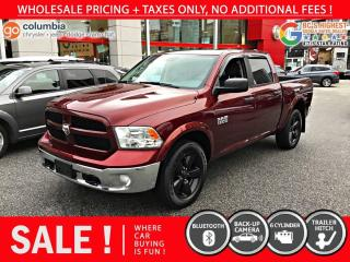 Used 2016 RAM 1500 Outdoorsman - Local / No Accident / One Owner / No Dealer Fees for sale in Richmond, BC