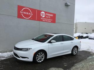 Used 2015 Chrysler 200 C for sale in Edmonton, AB