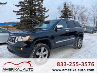 Used 2011 Jeep Grand Cherokee Overland for sale in Winnipeg, MB