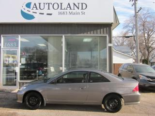 Used 2005 Honda Civic Cpe LX for sale in Winnipeg, MB