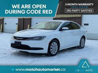 Used 2015 Chrysler 200 LX for sale in Winnipeg, MB