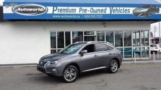 Used 2013 Lexus RX 350 TOURING PACKAGE AWD for sale in Langley, BC